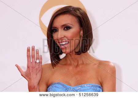 LOS ANGELES - SEP 22:  Giuliana Rancic at the  at Nokia Theater on September 22, 2013 in Los Angeles, CA