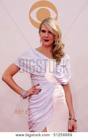 LOS ANGELES - SEP 22:  Lily Rabe at the  at Nokia Theater on September 22, 2013 in Los Angeles, CA