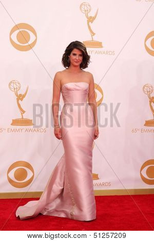 LOS ANGELES - SEP 22:  Cobie Smulders at the  at Nokia Theater on September 22, 2013 in Los Angeles, CA