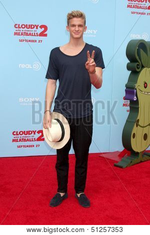 LOS ANGELES - SEP 21:  Cody Simpson at the
