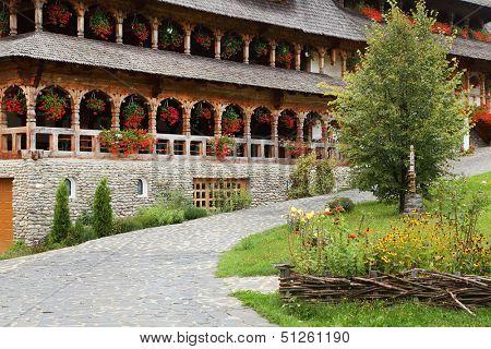 Barsana Wooden Monasteries,Maramur es, Romania