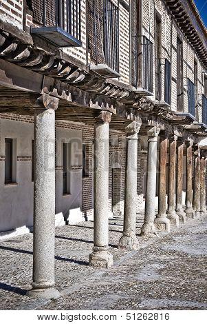 Porticoed Houses, Spain