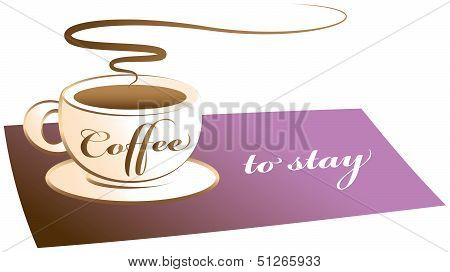 Coffee to stay