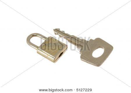 Hinged Lock And Key