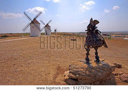 Sancho Panza Statue