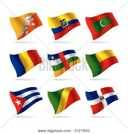 Set Of World Flags 7