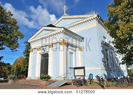 Hamina, Finland.  Lutheran Church