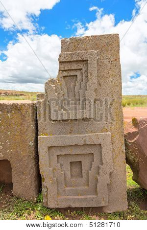 Megalithic stone complex Puma Punku