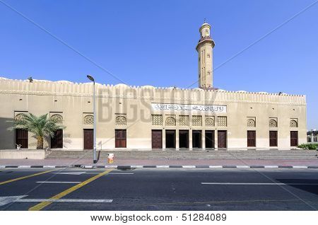 Dubai Grand Mosque in Dubai old city