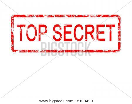 Top Secret Rubber Stamp