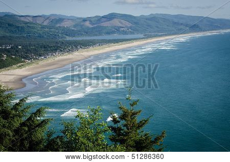 Rockaway Beach in Oregon