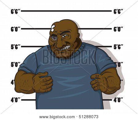 African American prisoner