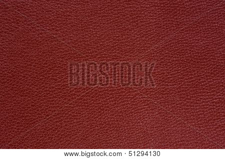 Claret (Bordeaux) Glossy Artificial Leather Background Texture