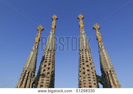 Sagrada Familia. 4 Towers