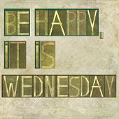 pic of weekdays  - Earthy background image and design element depicting the words  - JPG