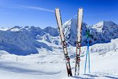 stock photo of winter sport  - Ski - JPG