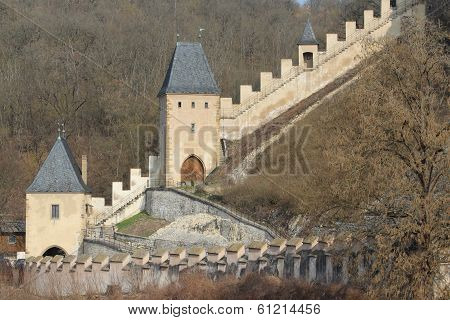 Walls Of Karlstejn