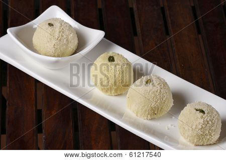 Kheer Kadam Is A Milk-based Sweet From Bengal.