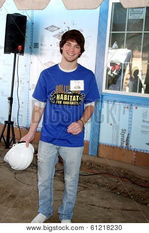LOS ANGELES - MAR 8:  Jimmy Dreshler at the 5th Annual General Hospital Habitat for Humanity Fan Build Day at Private Location on March 8, 2014 in Lynwood, CA