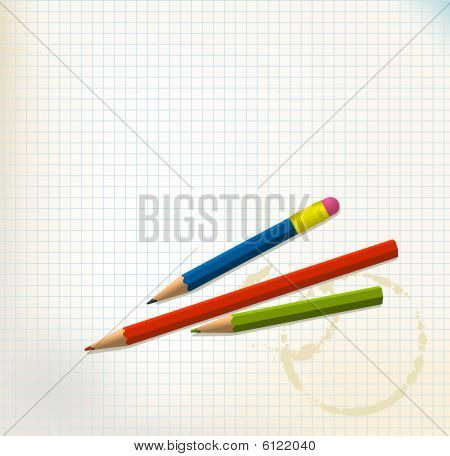 Paper With Pencils