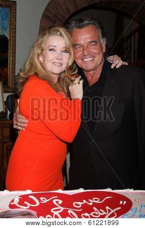 LOS ANGELES - MAR 4:  Melody Thomas Scott, Ray Wise at the Melody Thomas Scott Celebrates 35 Years at the