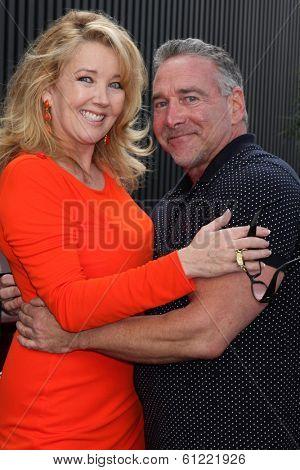 LOS ANGELES - MAR 4:  Melody Thomas Scott, Michael Fairman at the Melody Thomas Scott Celebrates 35 Years at the