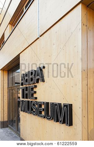 The Entrance To Abba The Museum