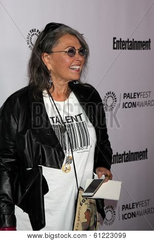 LOS ANGELES - MAR 10:  Roseanne Barr at the PALEYFEST Icon Award IHO Judd Apatow at Paley Center For Media on March 10, 2014 in Beverly Hills, CA