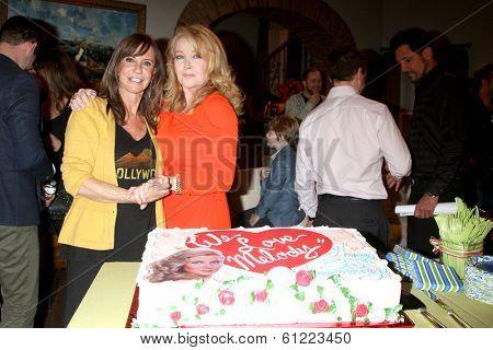 LOS ANGELES - MAR 4:  Jess Walton, Melody Thomas Scott at the Melody Thomas Scott Celebrates 35 Years at the