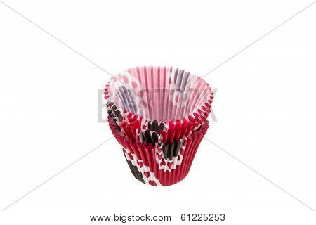 Fluted Colored Paper Cake Cases