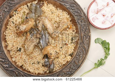 Hyderabadi Biryani - A  Popular Chicken or Mutton based Biryani
