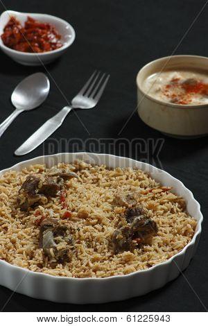 Mutton Gosht Biryani from India