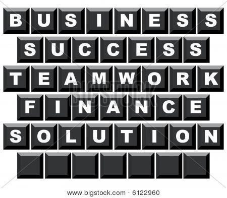 Business Motivational Keyboard