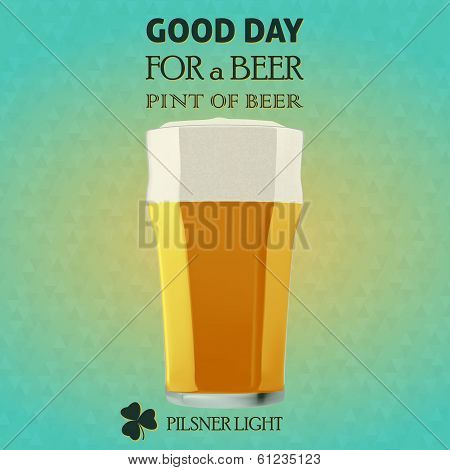 Good Day For A Beer - Pilsner Light