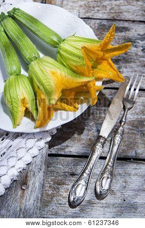 Zucchini Flowers