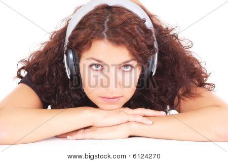 Thoughtful Teenager With Headphones
