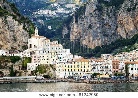 Amalfi Coast on the Mediteranean Sea, Italy, Europe