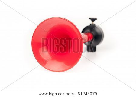 Vehicle horn isolated on white background