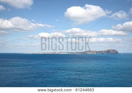 The Whole View Of Woo Island In Western Jeju Island, Korea