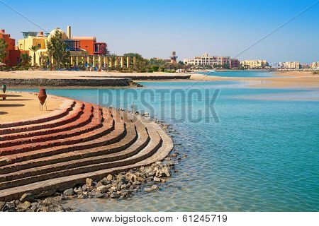El Gouna Coastline. Egypt