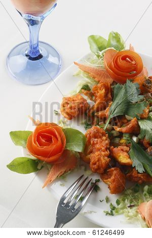 Mix Vegetable Pakora - An Indian snack