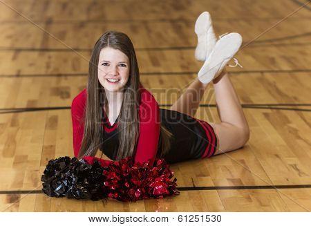 Young Teen Cheerleader Portrait