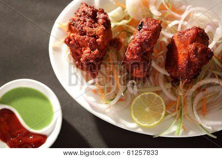 Mutton Tikka is an Indian/Pakistani dish