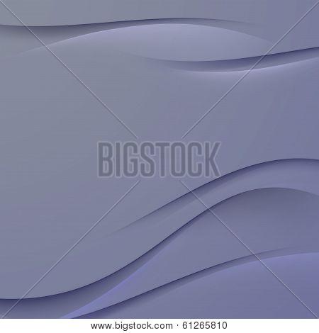 Transparent Dark Blue Smooth Satin Line Background