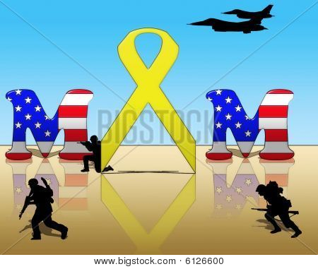 Yellow Ribbon for Mom