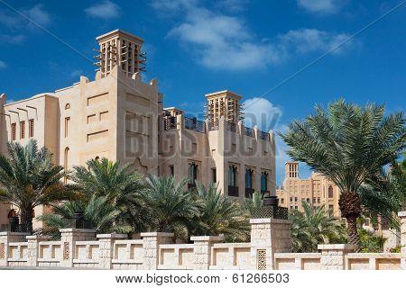 View Of The Souk Madinat Jumeirah.