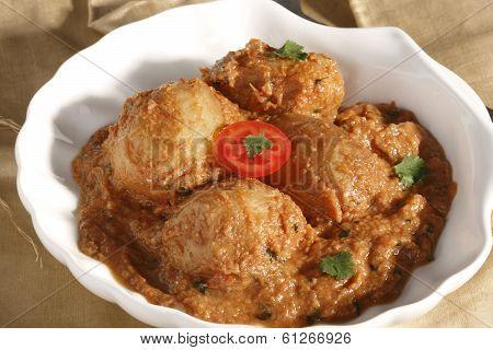 Awadhi Dum Aloo - A potato dish from India