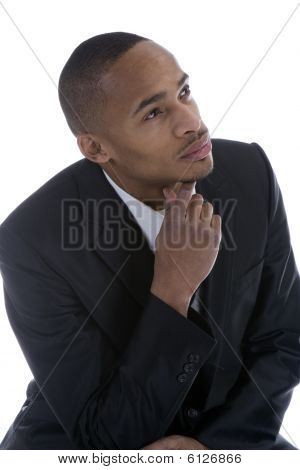 African American Male In Business Suit