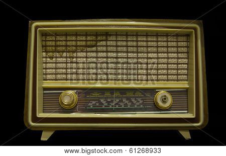 Old Radio From 1950
