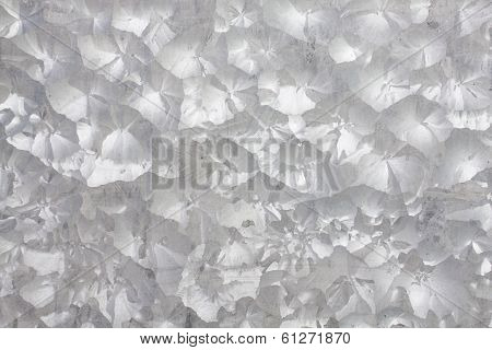 Zinc galvanized iron metal texture